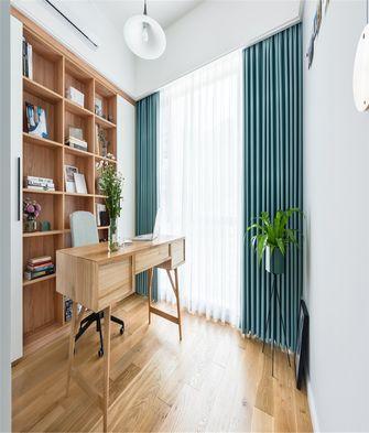 90平米三室两厅北欧风格书房欣赏图