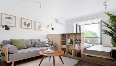 50平米小户型日式风格客厅图