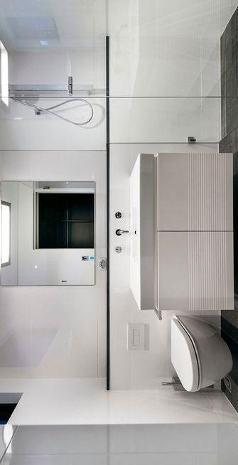 80平米三室两厅现代简约风格卫生间设计图