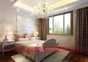 豪华型140平米别墅美式风格儿童房飘窗效果图