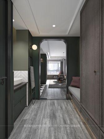 富裕型130平米三室两厅英伦风格玄关效果图