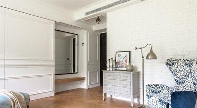 110平米三室两厅美式风格玄关门口图片大全