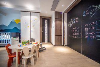 140平米三室一厅现代简约风格儿童房图片