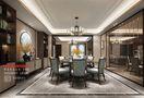 140平米四室四厅中式风格餐厅装修案例