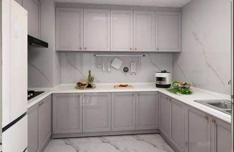 70平米三室一厅现代简约风格厨房装修图片大全