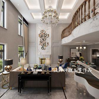 140平米别墅混搭风格客厅效果图
