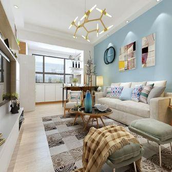 经济型80平米现代简约风格客厅图片大全