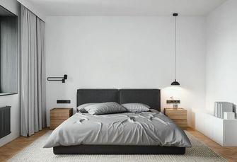 90平米一室两厅北欧风格卧室装修图片大全