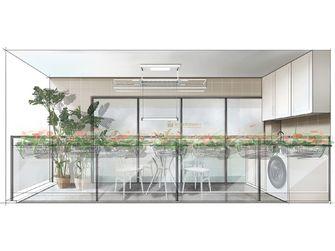 120平米四室两厅法式风格阳台设计图