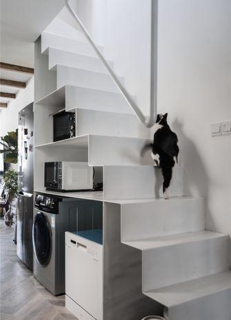 50平米一室一厅东南亚风格楼梯间图片