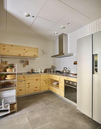 120平米三田园风格厨房效果图
