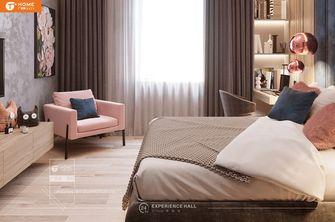 经济型110平米现代简约风格卧室图