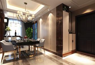 140平米四英伦风格餐厅设计图