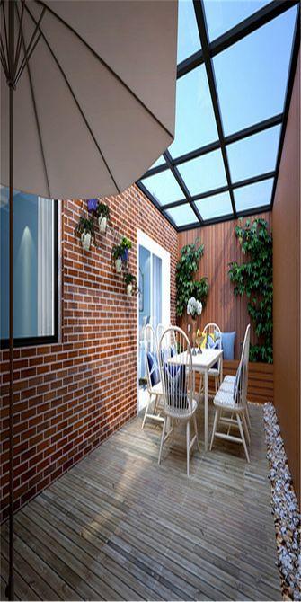 120平米公寓地中海风格阳光房欣赏图