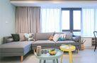 110平米北欧风格客厅沙发设计图