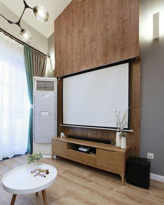 50平米复式田园风格客厅装修效果图