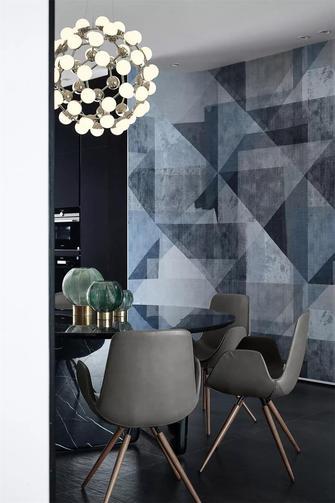 140平米四室五厅现代简约风格餐厅效果图