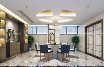 140平米别墅现代简约风格餐厅灯饰装修案例