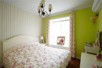 富裕型140平米四室一厅田园风格卧室设计图
