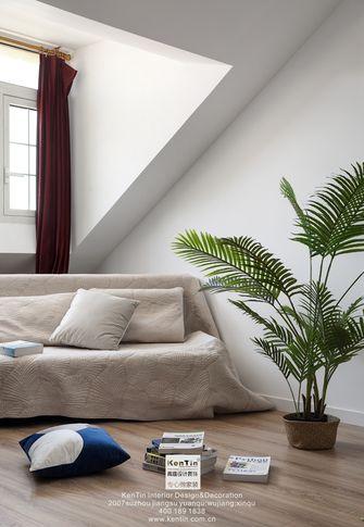 130平米三室两厅法式风格阳光房效果图
