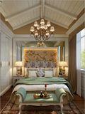 豪华型130平米复式欧式风格阁楼装修图片大全