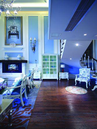 富裕型140平米复式地中海风格影音室设计图