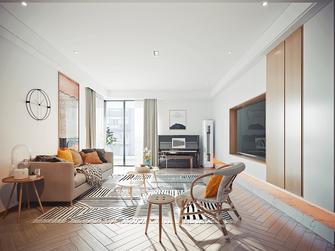 100平米三室两厅日式风格卧室欣赏图
