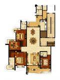 公寓新古典风格装修效果图