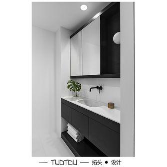 20万以上60平米一居室现代简约风格卫生间图