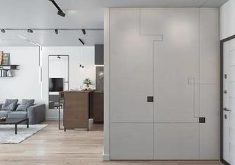 70平米公寓现代简约风格玄关装修效果图
