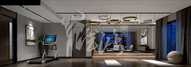 富裕型140平米别墅其他风格健身室装修案例