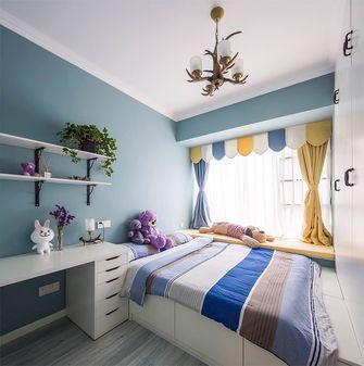 110平米四室两厅英伦风格儿童房图片