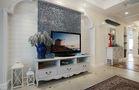 140平米四室两厅地中海风格客厅图片