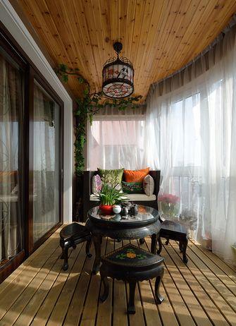 140平米三室三厅中式风格阳台装修效果图