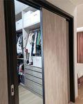 120平米三室一厅现代简约风格衣帽间效果图