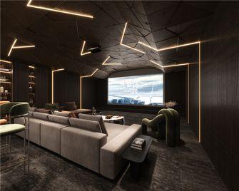 140平米现代简约风格影音室设计图