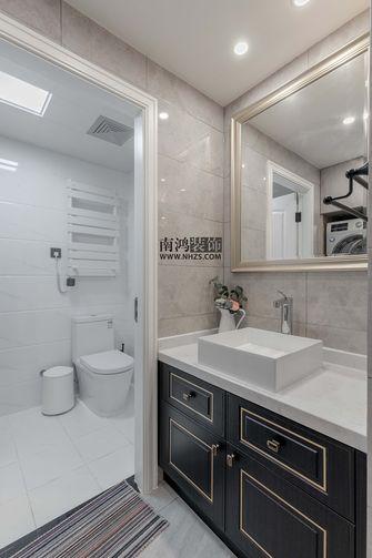 110平米三室三厅美式风格卫生间欣赏图