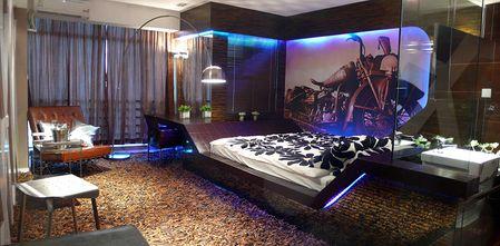 30平米超小户型英伦风格卧室图片大全