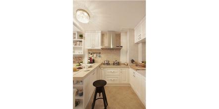经济型80平米一室一厅田园风格厨房欣赏图