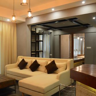 120平米东南亚风格客厅图片