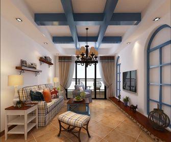 130平米四室一厅地中海风格客厅装修案例