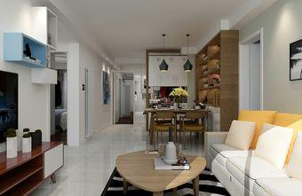 100平米三室两厅宜家风格餐厅图片大全