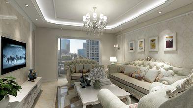 120平米三室两厅欧式风格客厅装修案例