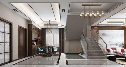 140平米复式中式风格楼梯间设计图