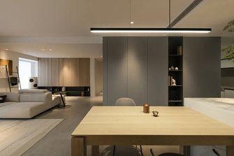 110平米一室两厅现代简约风格餐厅设计图