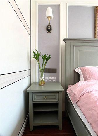 130平米三室三厅美式风格卧室装修图片大全